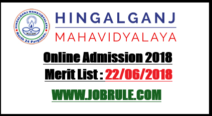 Hingalganj College Admission