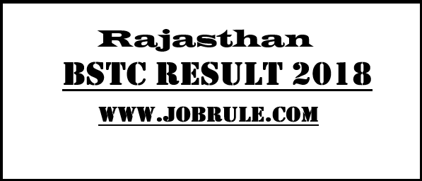 BSTC Result 2018