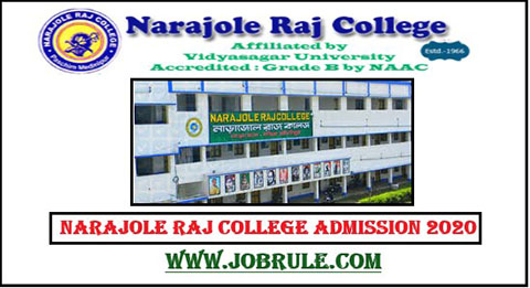 Narajole College Admission 2020