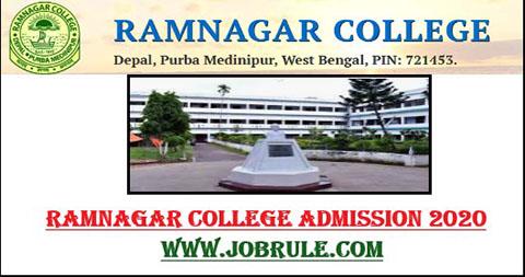 Ramnagar College Online Admission Merit List 2020