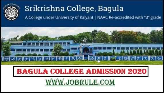 Bagula Srikrishna College admission provisional merit list 2020